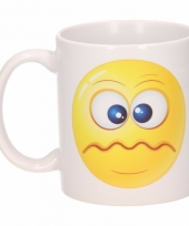 Schele smiley mok beker 300 ml