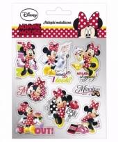 School agenda stickers minnie mouse 8 stuks type 1