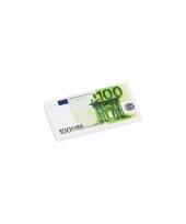School spullen gummetjes 100 euro biljet