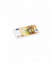 School spullen gummetjes 50 euro biljet