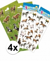 School stickers pakket paarden