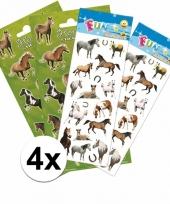 School stickers pakket paarden