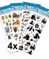 School stickers pakket safari thema