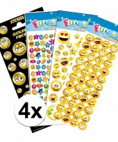 School stickers pakket smiley thema