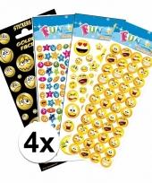 School stickers pakket smiley thema
