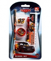 Schooletui set cars 5 delig