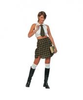 Schoolmeiden verkleedkleding voor dames