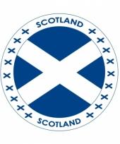 Schotland vlag print bierviltjes