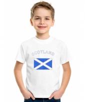 Schots vlaggen t-shirt voor kinderen