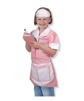 Serveerster verkleedkleding voor meisjes