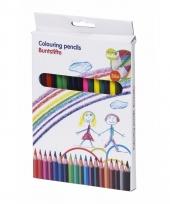 Set van 36 kleurpotloden topwrite kids