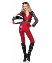 Sexy formule 1 kostuum voor dames