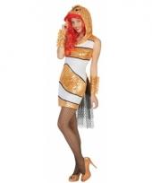 Sexy goudvis jurkje voor dames