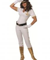 Sexy kapiteinspak jumpsuit voor dames