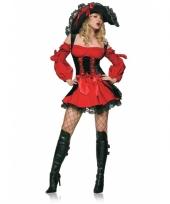 Sexy piraat verkleedjurkje voor dames