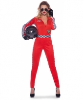 Sexy racing outfit voor dames