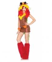 Sexy verkleedkleding draken jurkje