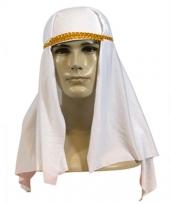Sheik hoofddoek in de kleur wit
