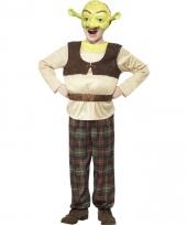 Shrek verkleedkostuum voor jongens