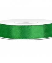 Sierlint satijn 25 meter lang groen 10080363