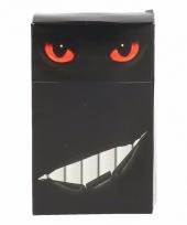 Sigaretten box hoesje katten poezen ogen rood