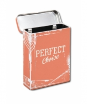Sigaretten verpakkings box oranje