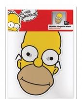 Simpsons masker homer