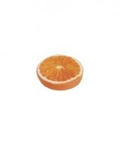 Sinaasappel decoratie kussen 38 cm