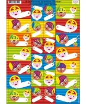 Sinterklaas kado stickers 26 stuks