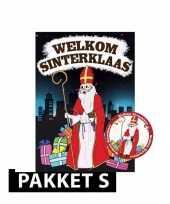 Sinterklaas poster met 50 viltjes