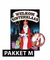 Sinterklaas poster met 75 viltjes