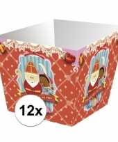 Sinterklaas strooigoed bakjes 12 stuks