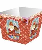 Sinterklaas strooigoed bakjes 4 stuks