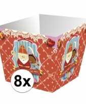 Sinterklaas strooigoed bakjes 8 stuks