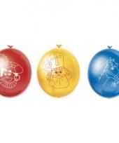 Sinterklaas versiering ballonnen 10 stuks
