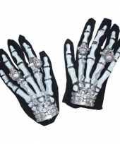 Skeletten handschoenen met licht