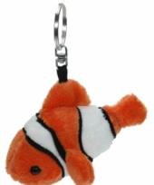 Sleutelhanger clownvis 12 cm