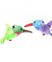 Sleutelhanger kolibrie 12 cm