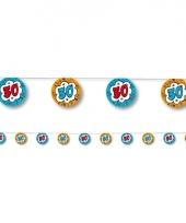 Slinger verjaardag 30 jaar blauw oranje