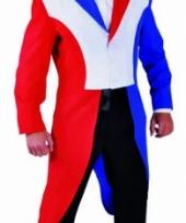 Slipjas heren rood wit blauw