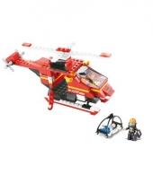 Sluban bouwpakket reddings helikopter 28 5 x 19 cm
