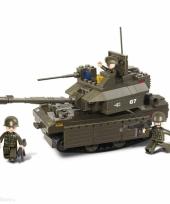 Sluban bouwpakket tank met groot kanon 33 x 23 7 x 5 4 cm