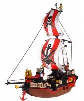 Sluban groot schip blokjes bouwset