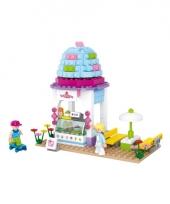Sluban ijswinkel blokjes bouwset