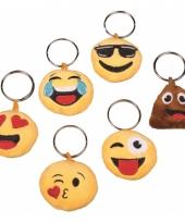 Smiley sleutelhanger gek gezicht met geluid