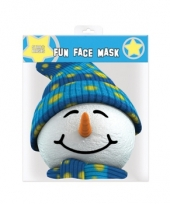 Sneeuwpoppen masker