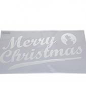Sneeuwspray sjabloon merry christmas 54 cm type 2