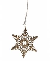 Sneeuwvlok decoratie van metaal