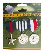 Soldaten speelgoed medailles