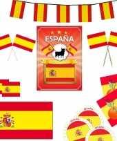 Spaanse decoratie pakket